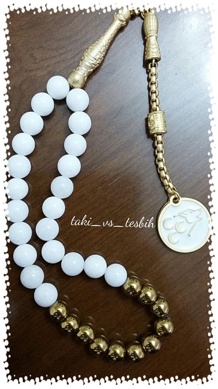 Bozkurt objeli onix hematit doğaltaş tesbih Handmade prayer beads....