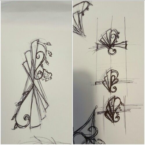 Jewellery design art deco
