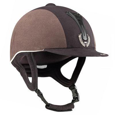riding helmets equestrian   Horse-Riding Helmets Horse Riding - Black/brown C600 JUMP helmet ...