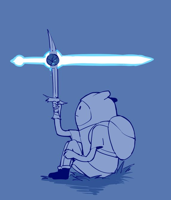 Poor Finn Sword by SU-Lee