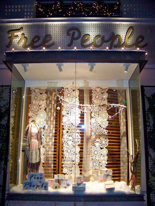 free people window display - Google Search