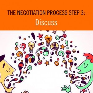 The Negotiation Process Step 3: Discuss