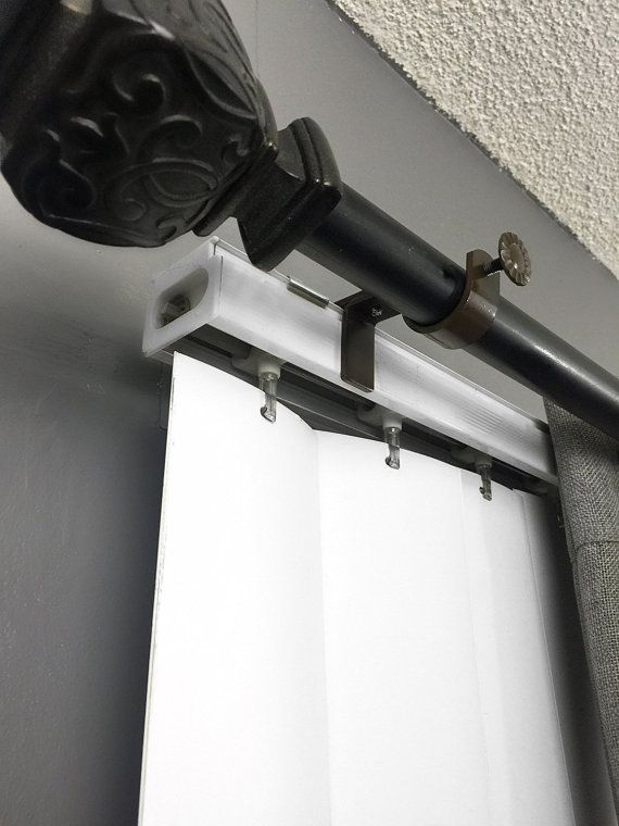 NoNo Bracket - Outside Mounted Blinds Curtain Rod Bracket Attachment