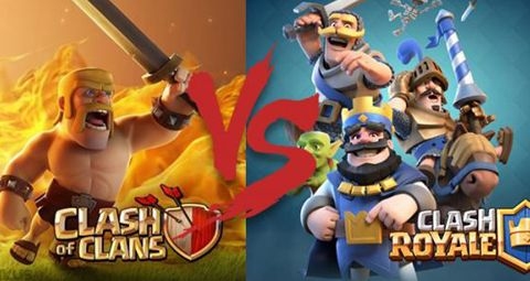 Clash Royale Vs Clash of Clans - Find which is a better game! Clash Royale gameplay, cards, decks & battles. Clash Royale & Clash of Clans difference. #clashroyale