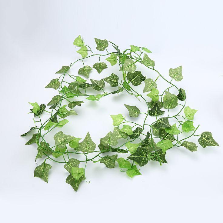 1pcs Cheap Artificial Ivy Leaf Artificial Plants Green Garland Plants Vine Fake Foliage Home Decor Wedding Decor #Affiliate