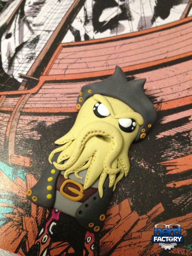 Davy Jones fimo Handmade!
