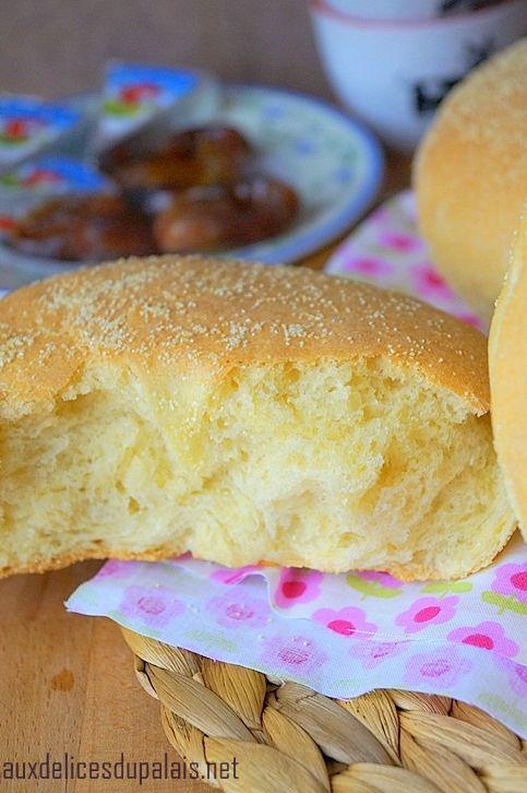 pain à la semoule au four