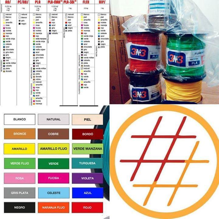Ampliamos la variedad de productos para que nunca te quedes con las ganas de un color y un material en especial y al mejor precio. #grilon3 #printalot #3N3  .. El link en la biografía te lleva al stock actualizado! . #hashtag #hashtag3d #hashtags #3dprint #3dprinting #impresion3d #impresora3d #diseño3d #fadu #fiuba #utn #ub #up #uba #itba #untref #unsam #modelo3d #3dmodel #3ddesign #buenosaires #argentina