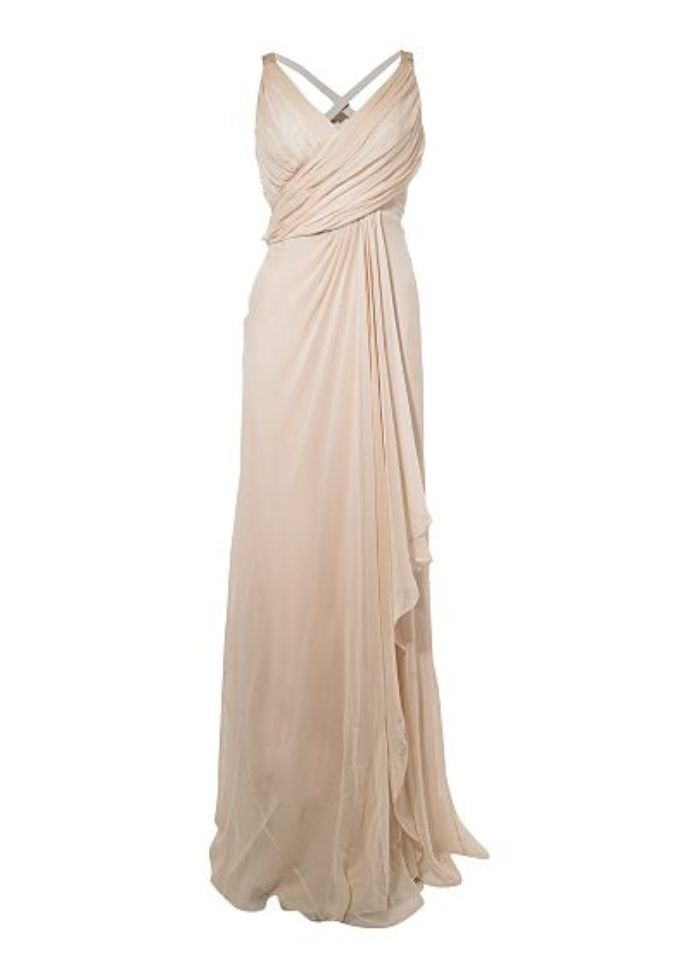 Grecian draped wedding dresses - Anoushka G - Paula Grecian drape skirt