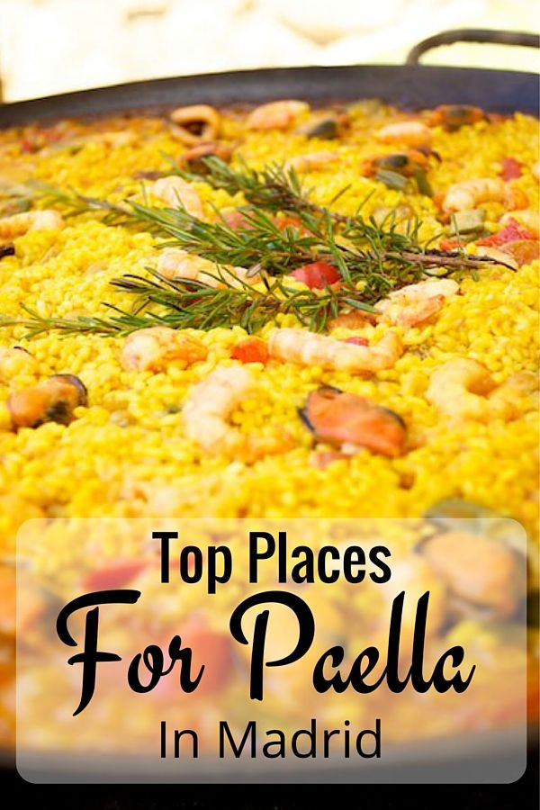 It can be hard to find really good versions of paella in Madrid, given the rice dish isn't typical in the area, but these restaurants have you covered