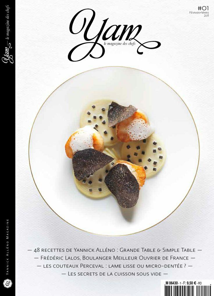 Yam,le magazine des Chefs, by Yannick ALLENO