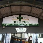This image will show you how General Signage and digital signage can be done and gives better look to your clinic. To know more feel free to contact us at Auckland Display Signs.