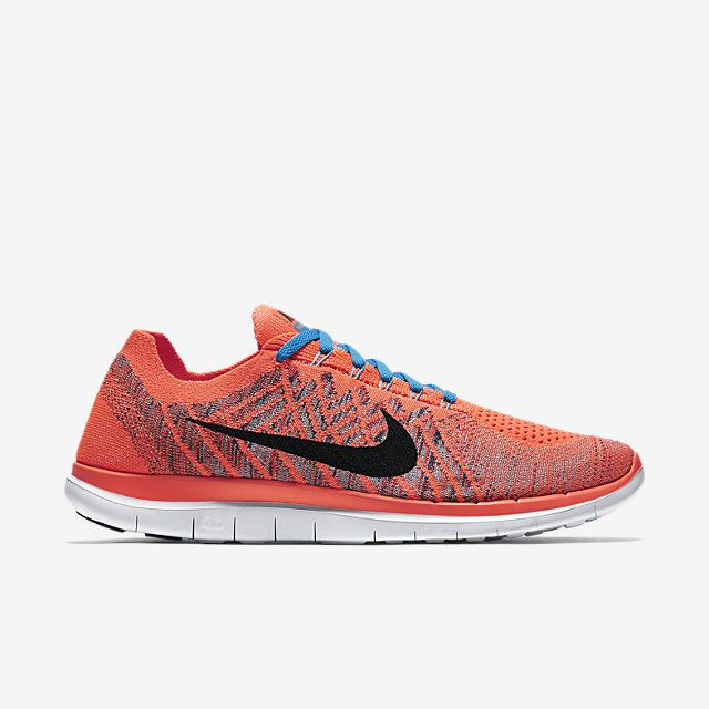 Nike Free 4.0 Flyknit Men's Running Shoe.