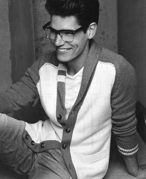 Let's just say, I'm a sucker for guys with glasses.