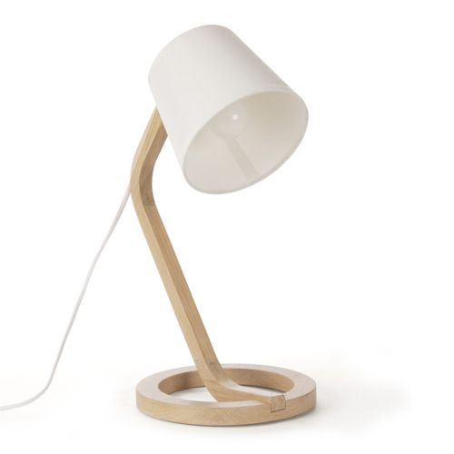 17 best images about wood lamps on pinterest wooden lamp for Lampe a poser alinea