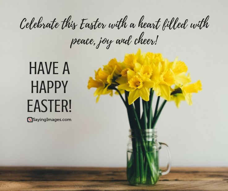 Happy Easter Quotes For A Hope-Filled Sunday #sayingimages #happyeaster #happyeasterquotes #easterquotes