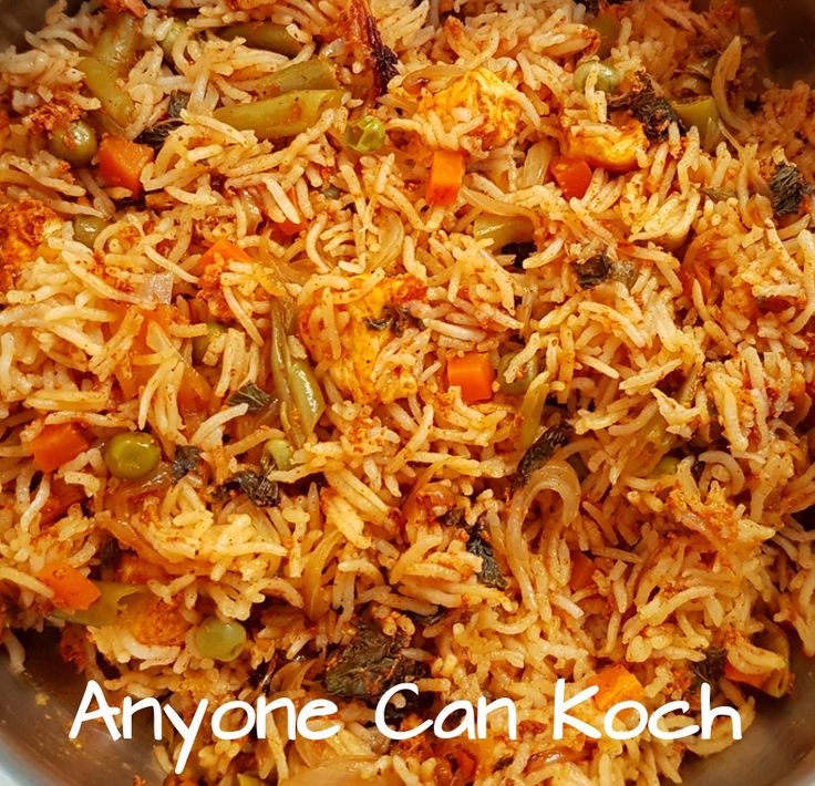 Who doesn't like biryani here? Let it be a feast or a special occassion, it is incomplete without a biryani. This OPOS method has given us an awesome way to make this biryani ! Here comes the…