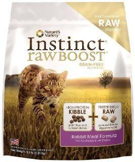 Nature's Variety Instinct Raw Boost Rabbit Meal Feline 11.3 Lb