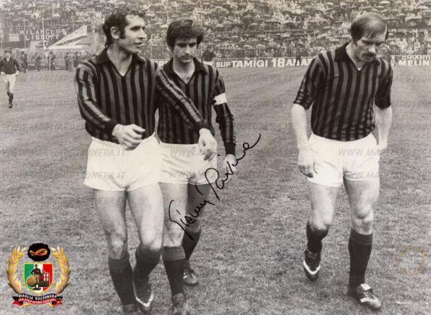 Il Milan negli anni 70 Bigon, Rivera e Benetti