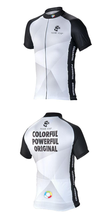 Team ICG® Radtrikot CbC weiß: Unser CbC (Coach by Color®) Kurzarm Radtrikot in weiß.