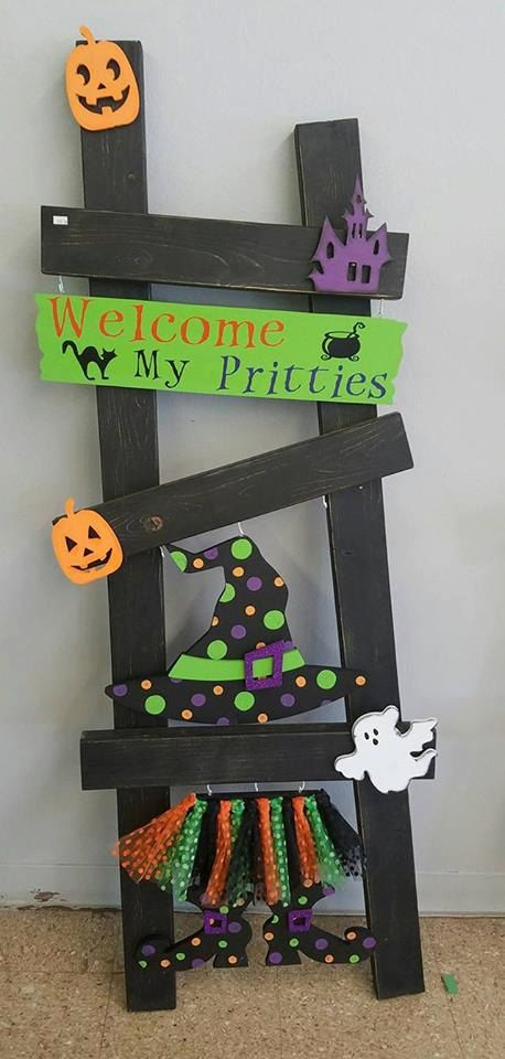 Hey, I found this really awesome Etsy listing at https://www.etsy.com/listing/252068265/halloween-ladder-kit