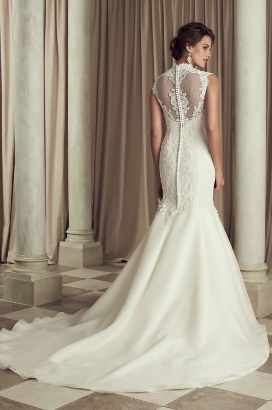 French Lace Mermaid Wedding Dress