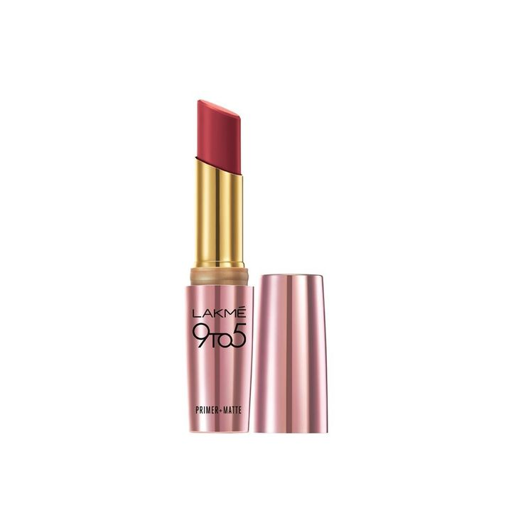 Lakme 9 to 5 Primer with Matte Lip Color, MR11 Berry Base, 3.6 g