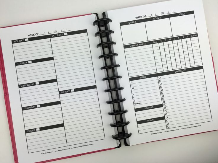 create your own planner personalised printable arc notebook discbound staples how to make printables perfect planner sunday monday week start daily