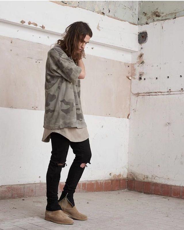 Kpop big and tall streetwear hip hop hommes vêtements de mode surdimensionné t shirt drake kanye west yeezy saison camo t shirt camouflage dans T-shirts de Accessoires et vêtements pour hommes sur AliExpress.com | Alibaba Group