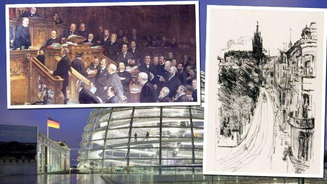 Nazi-Raubkunst im Bundestag: Wem gehören diese Bilder?