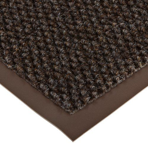 """Notrax 136 Polynib Entrance Mat, for Lobbies and Indoor Entranceways, 2' Width x 3' Length x 1/4"""" Thickness, Brown by NoTrax. $33.11. Best #136 Polynib entrance mat. Polynib has the rich, luxurious look of Berber-style carpeting for an always elegant appearance. A very tightly nibbed loop of needle-punched yarn entraps and hides debris while retaining moisture at the same time. 24 ounces of carpet per square yard provides greater crush resistance for long last..."""