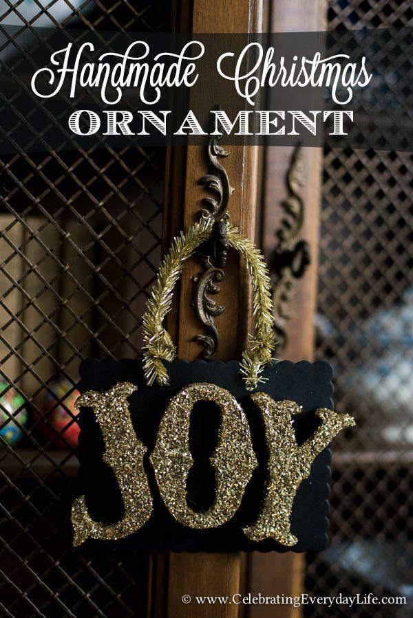 25 Unique Christmas Ornaments Handmade Ideas On Pinterest