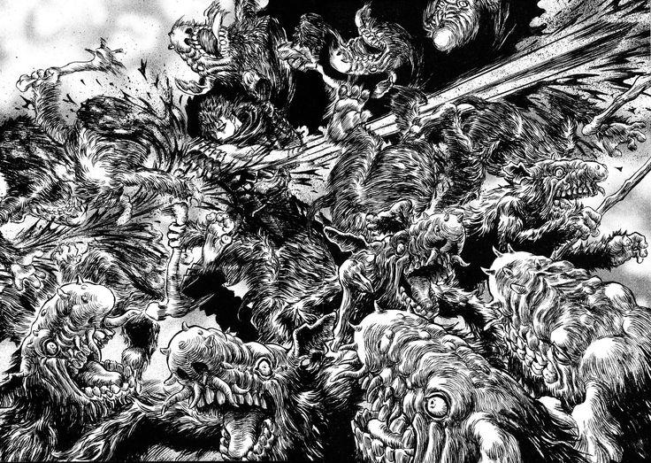 Read manga Berserk Chapter 218 online in high quality