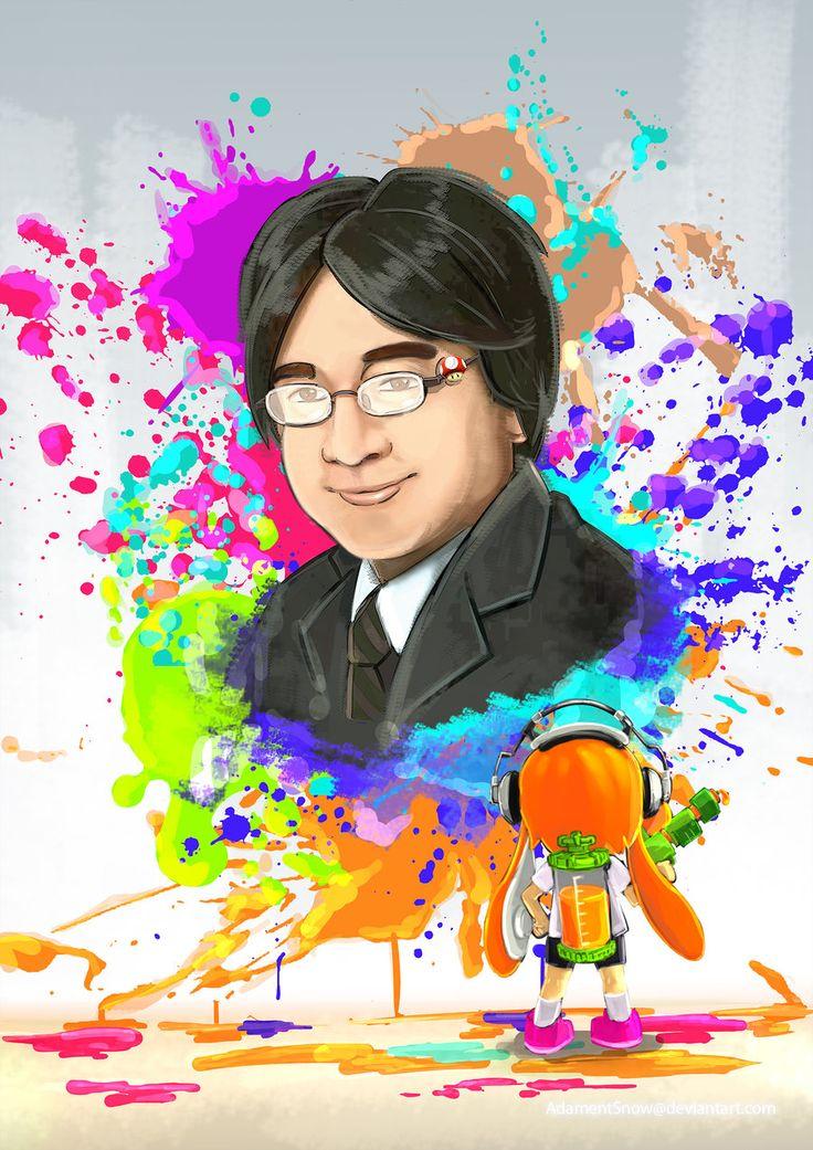 Dedication to Satoru Iwata by AdamentSnow.deviantart.com on @DeviantArt