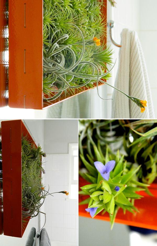 die besten 25 vertikaler gem segarten ideen auf pinterest diy pflanzer horta vertikal und. Black Bedroom Furniture Sets. Home Design Ideas