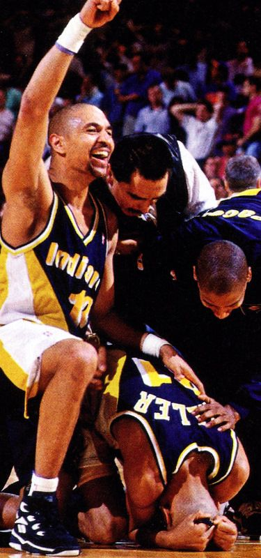 Great memory - Reggie Miller and the Pacers eliminate the Knicks- 1995 NBA Playoffs