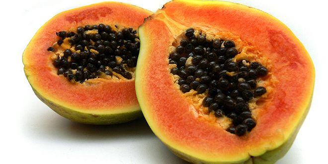 """Su delicioso sabor y hermoso color naranja no es lo único que nos ofrece la papaya. Este manjar, al cual Cristóbal Colón llamó """"la fruta de los ángeles"""", es una rica fuente de nutrientes antioxidantes como los carotenos, vitamina C, flavonoides, vitaminas del grupo B, los minerales potasio y magnesio y fibra. La papaya también …"""