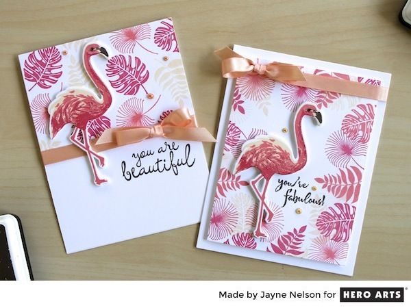 Color Layering Flamingo is a Hero Arts collection of Clear Design Stamps featuring our favorite pink feathered friend. Layer colors to create fabulous Flamingo images for stamped cards and crafts. …