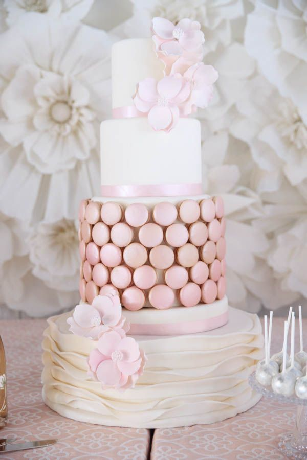 shabby chic bridal shower cakes%0A A Pretty In Pink and Oh So Chic Bridal Shower