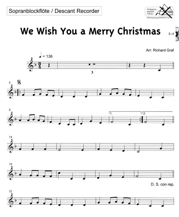 19 best Easy Christmas songs images on Pinterest | Music sheets ...