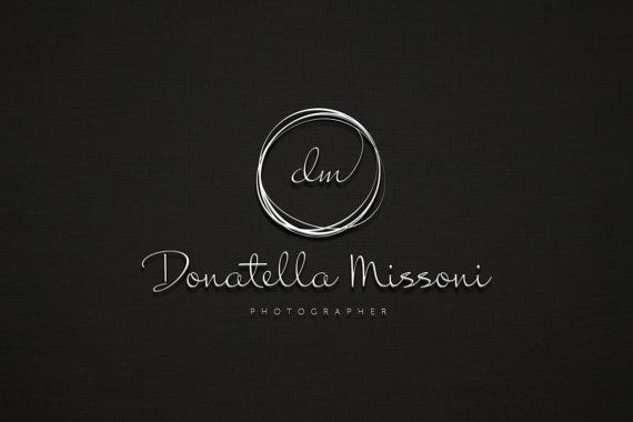 Custom Logo for Photographer / Photography logo / by Pixelord