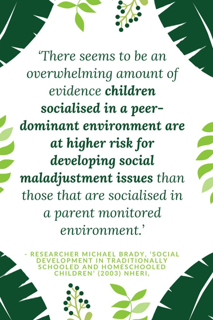 homeschooling and childhood socialization essay By lori soard home school teacher one of the biggest areas of concern among homeschoolers is how to socialize their children tell anyone you are homeschooling and this is typically one of their first questions: but how do the children get socialized.