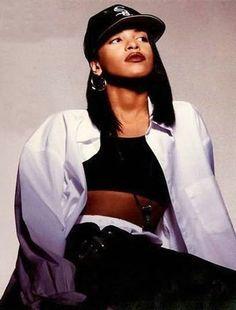 90s hip hop fashion women