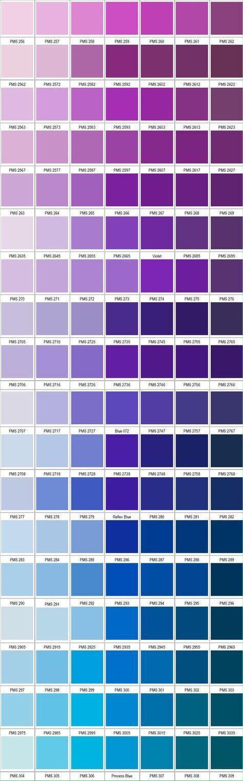 PANTONE violet blue