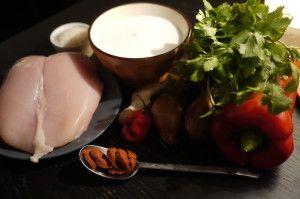 Curry+rosso+di+pollo+e+riso+thai+al+cocco