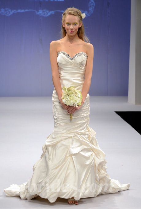 Brides.com: Winnie Couture - Spring/Summer 2013. Gown by Winnie Couture  See more Winnie Couture wedding dresses in our gallery.  The top
