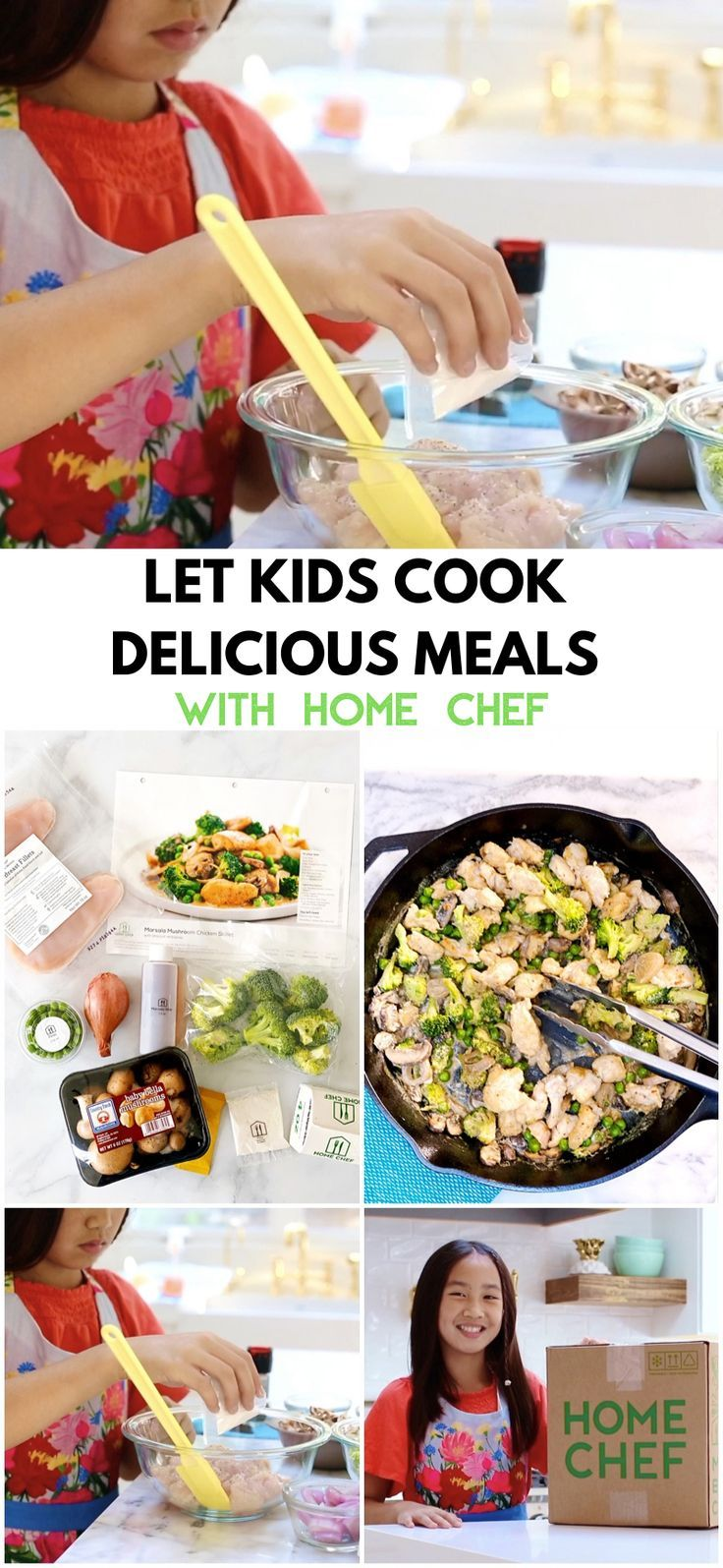 Let Kids Cook Delicious Meals With Home Chef Cooking With Kids