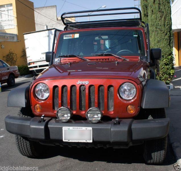 Jeep wrangler toldo duro de 3 partes, estándar, doble tracción (4x4), Ganchos de arrastre Jeep, 50,100 Km. con canastilla y tienda de campaña.Cel: 04455 18593353
