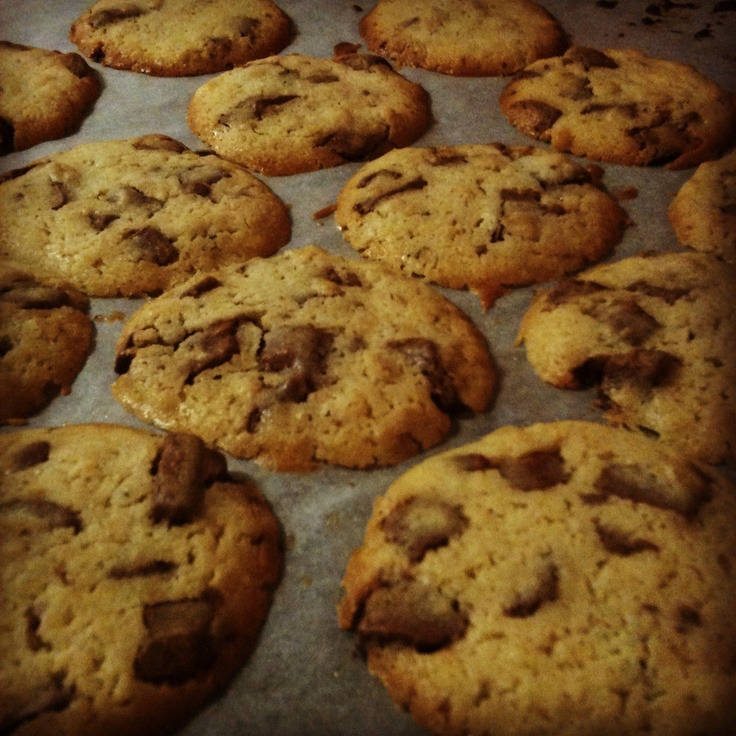 Chocolate chip cookieees!❤