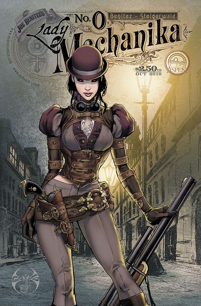 Lady Mechanika #1